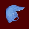 Click to Enlarge Picture - Toddler Boy Hat With Earflaps & Chin Strap