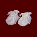 Click to Enlarge Picture - Irish Linen Booties With Claddagh