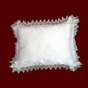 Silk Christening Pillow
