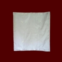 Silk Christening Quilt With Embroidered Crosses
