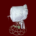 Click to Enlarge Picture - Magic Hanky With Ruffled Lace & Shamrocks