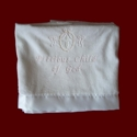 Click to Enlarge Picture - Precious Child of God Christening Blanket