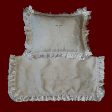 Personalized Christening Blanket & Pillow Set