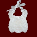 Click to Enlarge Picture - Our Little Miracle Christening Bib