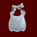 Click to Enlarge Picture - Our Little Blessing Christening Bib