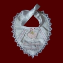 Click to Enlarge Picture - Heart Shaped Baby Bib