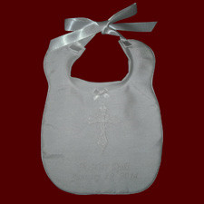 Keepsake Irish Christening Bib