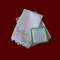Click to Enlarge Picture - Venice Lace Irish Wedding Hanky