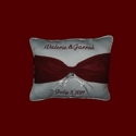 Click to Enlarge Picture - Personalized Ring Bearer Pillow