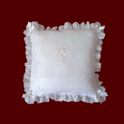 Irish Christening Pillows